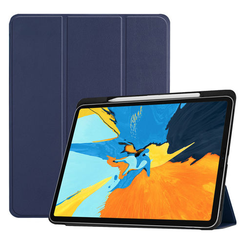 Trifold Smart Case Stand for 2018 Apple iPad Pro (11-Inch) - Blue